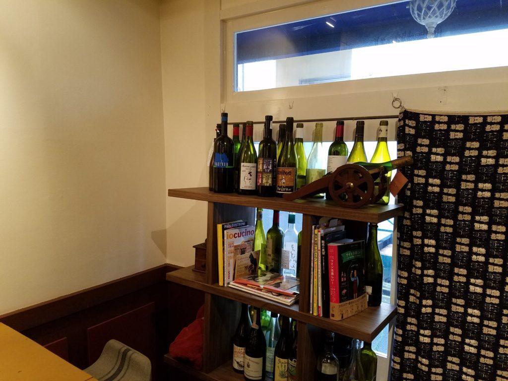 シャガットワイン棚