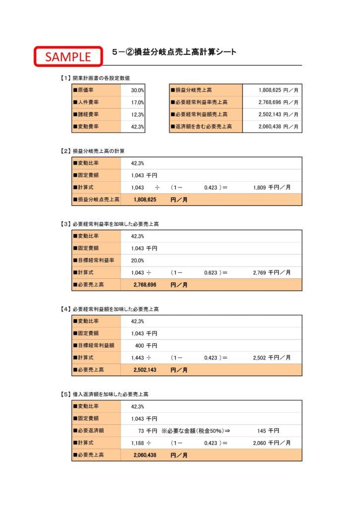 事業計画書サンプル