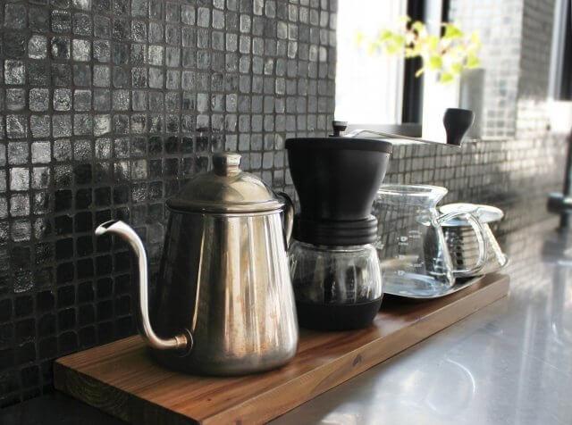 カフェで使用する小物