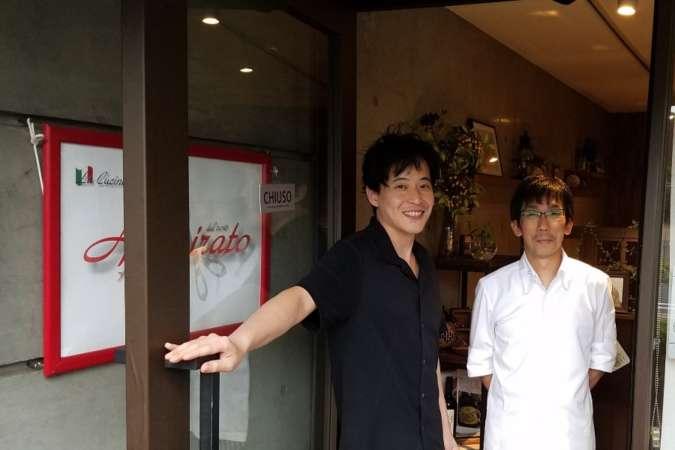 アンミラート杉村さんと渡辺さん