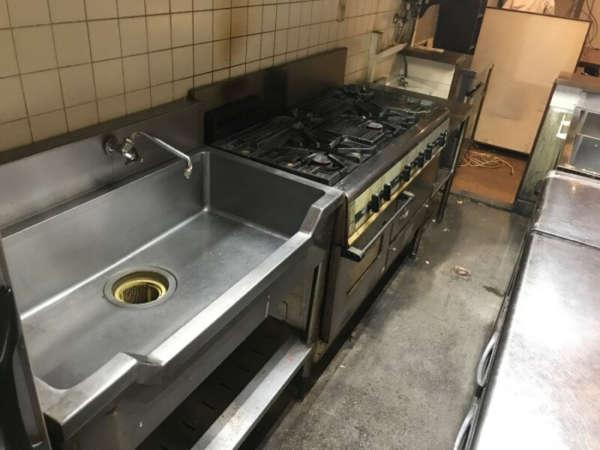 引き継いだ厨房設備
