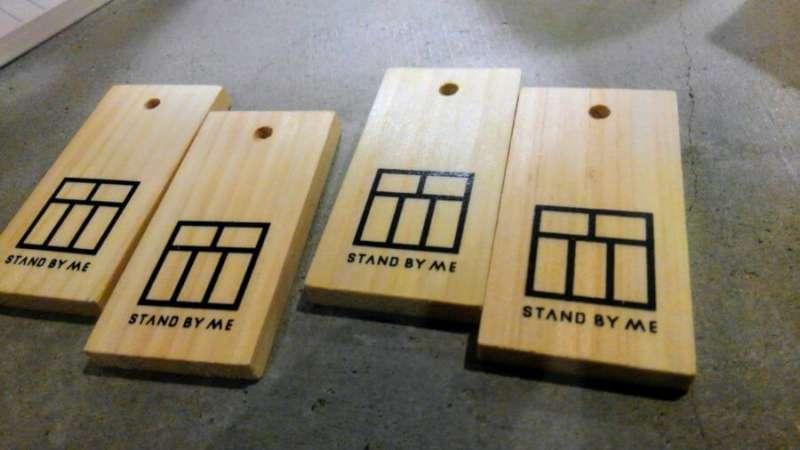 4枚1000円の木札