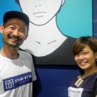 スタッフのミヤビさんとMOMOさん
