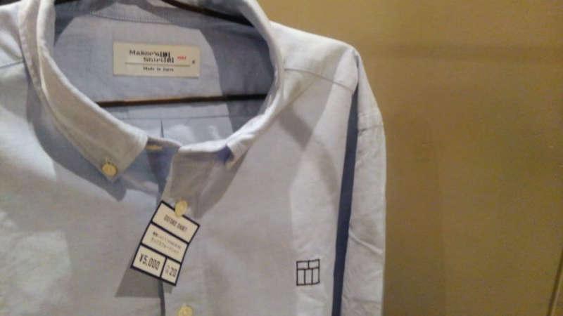 鎌倉シャツ品質のオリジナルシャツ