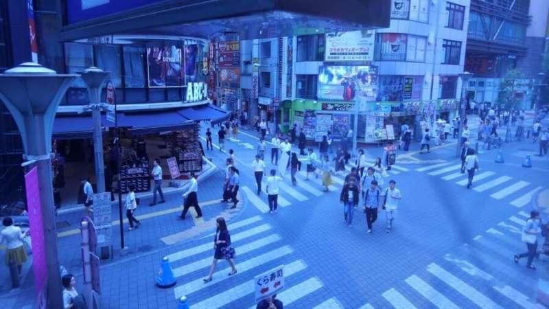 雰囲気の違う街並み