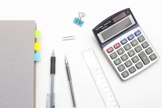 事業計画書のための電卓