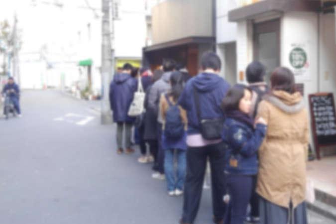 飲食店の行列