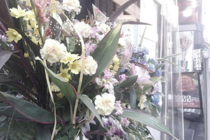 オープン時の花