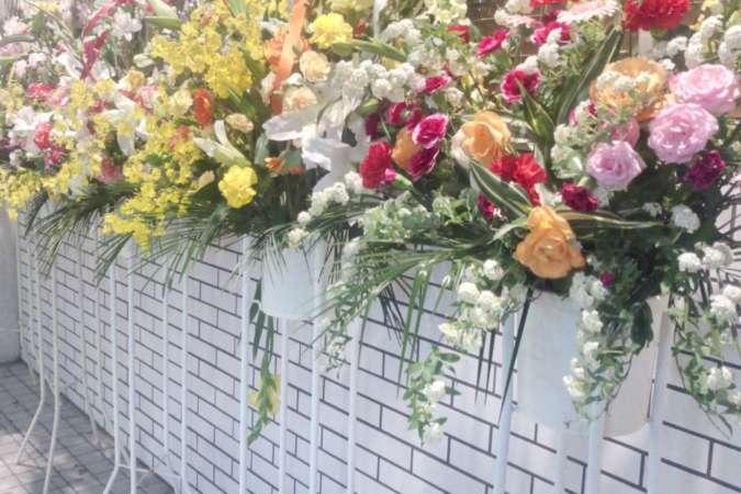 飲食店出店時の祝い花