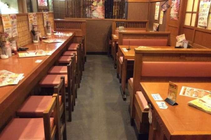 30坪の飲食店