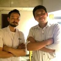 峠オーナー栗田さんと開業コンサルタント大森