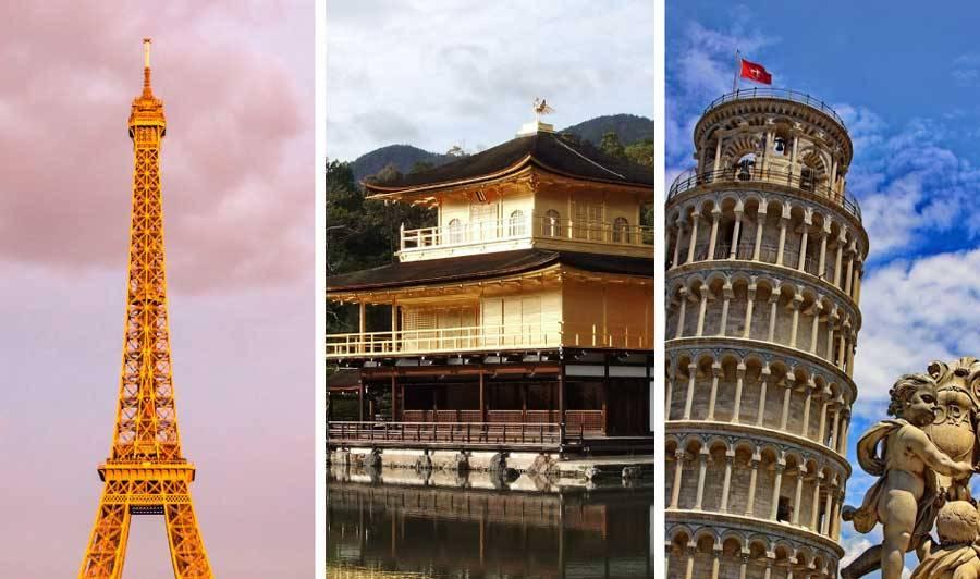 フランス、京都、イタリア